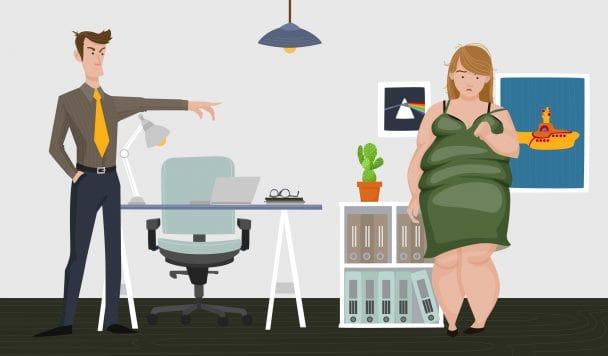 Τα κιλά μου επηρεάζουν την πιθανότητα να εργαστώ ξανά