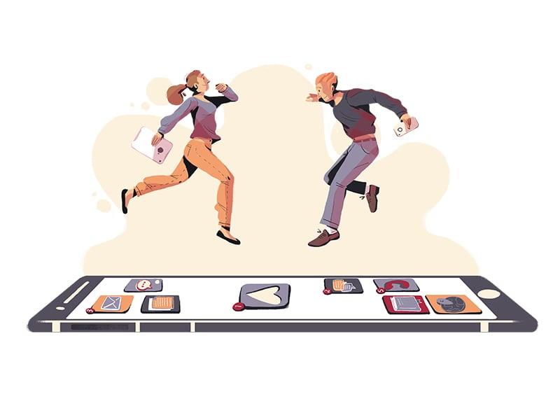 Dating app συμβαίνει